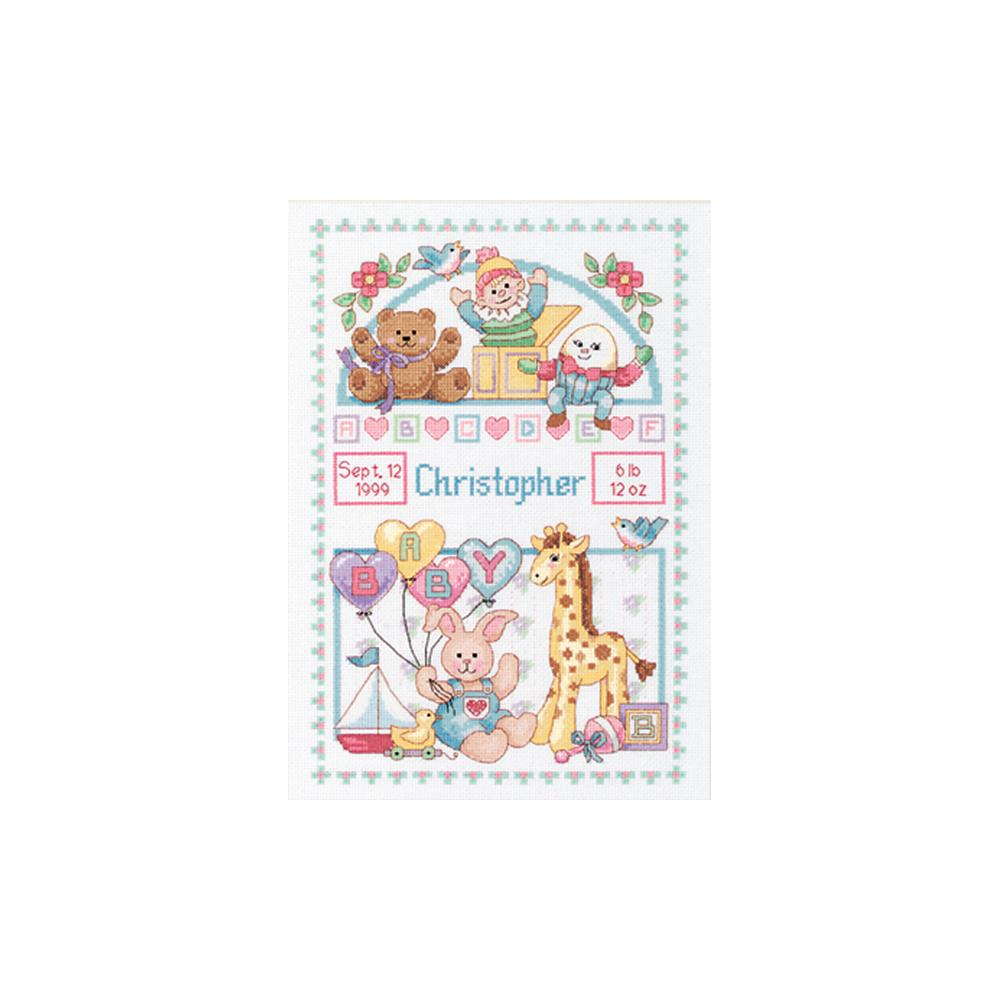 Birth Record For Baby Cross Stitch Kit