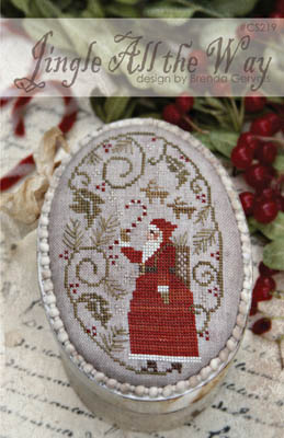 Jingle All The Way Cross Stitch Pattern by With Thy Needle & Thread