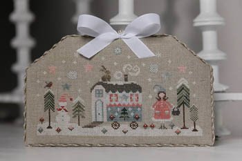 Roulotte En Hiver - Trailer In Winter Cross Stitch Pattern by Tralala