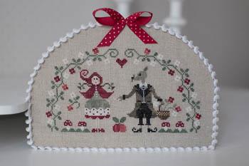 Grand Mechant Loup - Big Bad Wolf Cross Stitch Pattern by Tralala