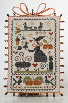 Ma Sorciere Bien Aimee - Ma Beloved Witch Cross Stitch Pattern by Tralala