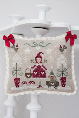 La Foret Enchantee Hiver - Winter Enchanted Forest Cross Stitch Pattern by Tralala