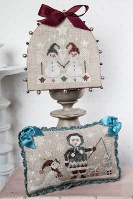 Sur La Banquise - On The Ice Cross Stitch Pattern by Tralala