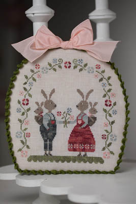Lapins Malins - Smart Rabbits Cross Stitch Pattern by Tralala