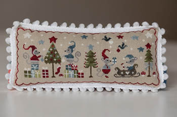 Noel De Souris - Christmas Of Mice Cross Stitch Pattern by Tralala