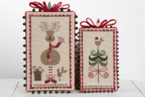 Joyeux Noel - Merry Christmas Cross Stitch Pattern by Tralala