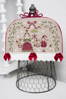 Sous Le Gui - Under The Mistletoe Cross Stitch Pattern by Tralala
