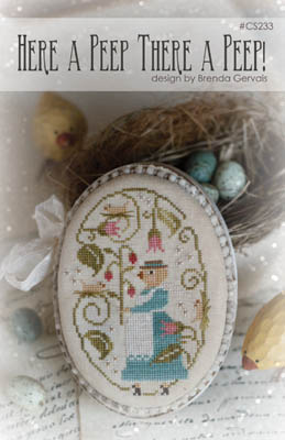 Here A Peep There A Peep Cross Stitch Pattern by With Thy Needle & Thread