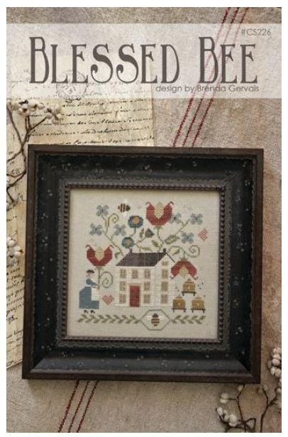 Blessed Bee Cross Stitch Pattern