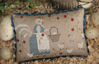 Hens & Chicks - Cross Stitch Pattern by With Thy Needle and Thread