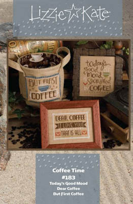 Coffee Time Cross Stitch Pattern by Lizzie Kate