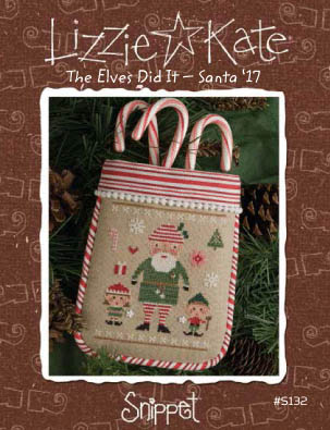 Elves Did It Cross Stitch Pattern by Lizzie Kate