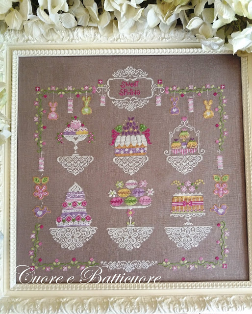 Sweet Spring Cross Stitch Pattern by Cuore E Batticuore