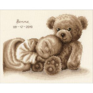 """Vervaco Counted Cross Stitch Kit 11.25""""X8.75"""" Sweet Dreams"""