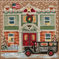 Police Station Mill Hill Counted Cross Stitch Kit