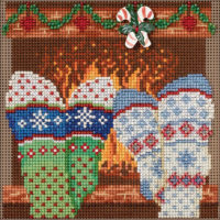 Cozy Feet Mill Hill Counted Cross Stitch Kit