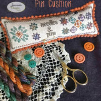 Star Needles And Pins Pincushion by Jeannette Douglas Designs