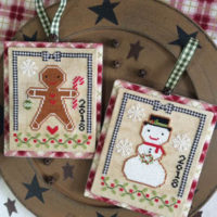 Christmas Cookies Cross Stitch Pattern by Annie Beez Folk Art