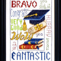 Bravo Cross Stitch Pattern by Bobbie G Designs