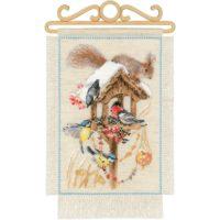 Cottage Garden Cross Stitch Kit by Riolis