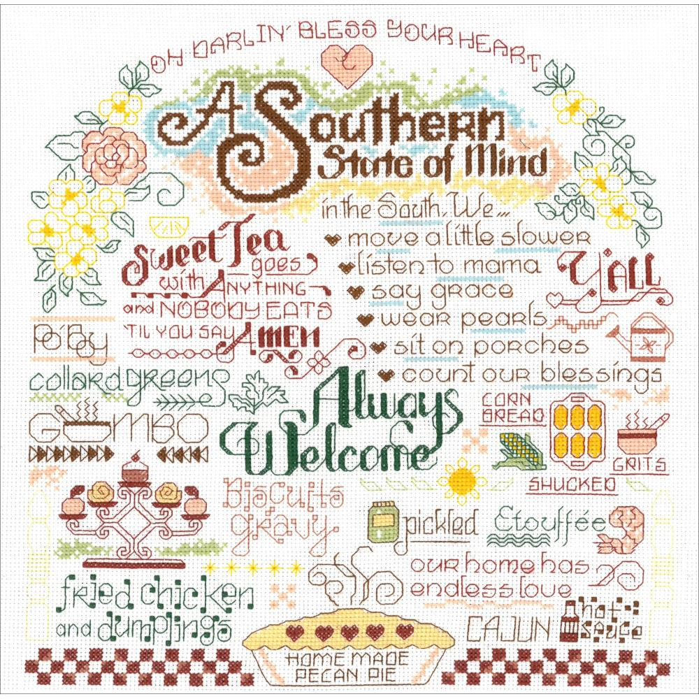 Let's Visit The Southwest Cross Stitch Kit by Imaginating