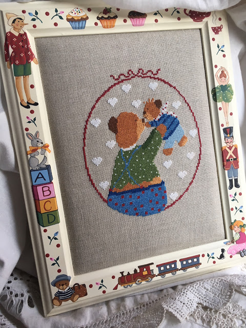 Lilli Violette Cross Stitch Pattern ~ Me and My Dad