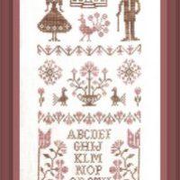 Mr Et Mme Quaker Cross Stitch Pattern by Jardin Prive'
