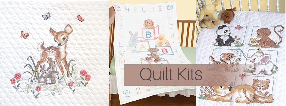 Cross Stitch Quilt Kits