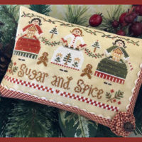 Sugar And Spice Cross Stitch Pattern ~ Little House Needleworks