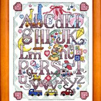 Sweet Baby Sampler Cross Stitch Pattern by Bobbie G Designs