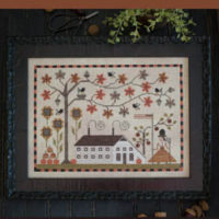 Betsy's Autumn Cross Stitch Pattern by Plum Street Samplers