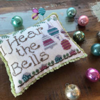 I Hear The Bells Cross Stitch Pattern by Hands on Designs