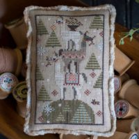 Llama Lump Cross Stitch Pattern by Plum Street Samplers
