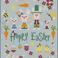 Hoppy Easter by Barbara Ana – Cross Stitch Pattern
