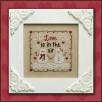 Love is in the Air Cross Stitch Pattern by Country Cottage Needleworks