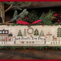 Jack Frost's Tree Farm 1 Cross Stitch Pattern – Little House Needleworks