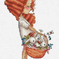 Panier D'Amour – Easter Basket Cross Stitch Pattern