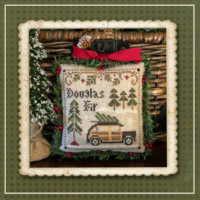 Jack Frost's Tree Farm 2 – Douglas Fir Cross Stitch Pattern – Little House Needleworks