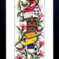 Shelter Cross Stitch Pattern Bobbie G Designs