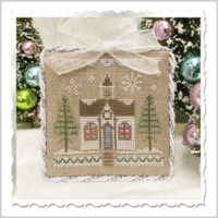 Glitter House 5 Cross Stitch Pattern by Country Cottage Needleworks