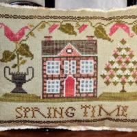 Spring Time Cross Stitch Pattern ~ Abby Rose Designs