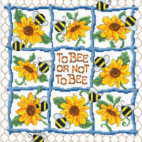 To Bee Or Not To Bee Cross Stitch Pattern by Imaginating