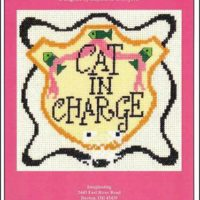 Cat In  harge Cross Stitch Pattern by Imaginating