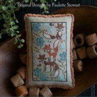 Fox Few Cross Stitch Pattern ~ Plum Street Sampler