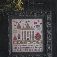 Gentleman's Daughter Cross Stitch Pattern ~ Plum Street Samplers