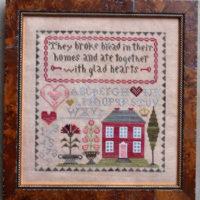 Glad Hearts Cross Stitch Pattern ~ Abby Rose Designs