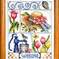 Beautiful Blessings Cross Stitch Pattern Bobbie G Designs
