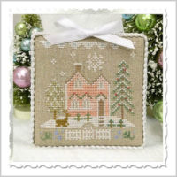 Glitter House 6 Cross Stitch Pattern by Country Cottage Needleworks