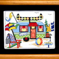 Summer Camper Cross Stitch Pattern Bobbie G Designs