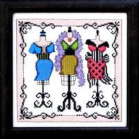 With Glamour Cross Stitch Pattern Bobbie G Designs